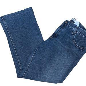 ⭐️HP⭐️GAP Women's Long & Lean Flare Jeans Size 14R